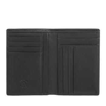 Duży stylowy męski portfel skórzany Nuvola Pelle