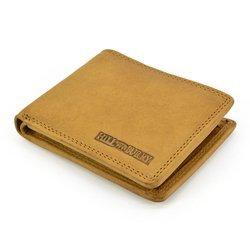 Hill Burry hb51160 camel Ekskluzywny portfel