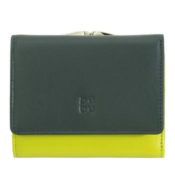 Piękny damski portfel, portmonetka skórzana DuDu