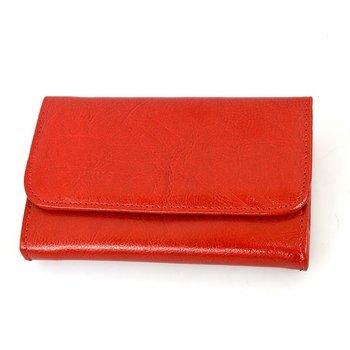 Portfel skórzany Andrus 014b czerwony