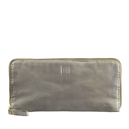 Piękny duży damski portfel skórzany DuDuBags