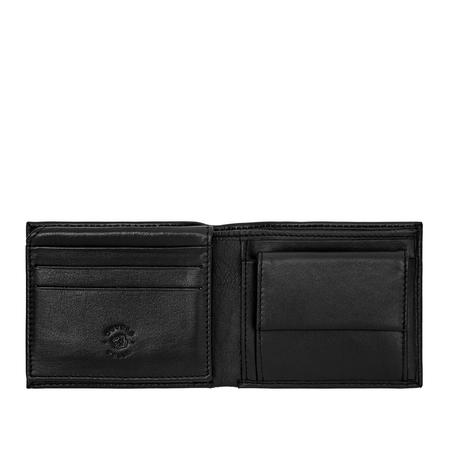Prosty pojemny męski portfel skórzany Nuvola Pelle